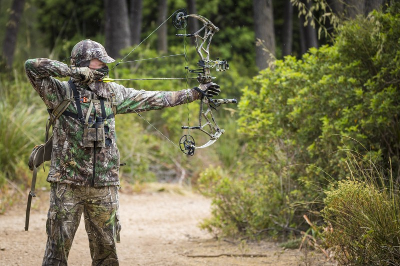 Ian Harford Bear Archery Arena 34 Realtree Bowhunting in Mallorca