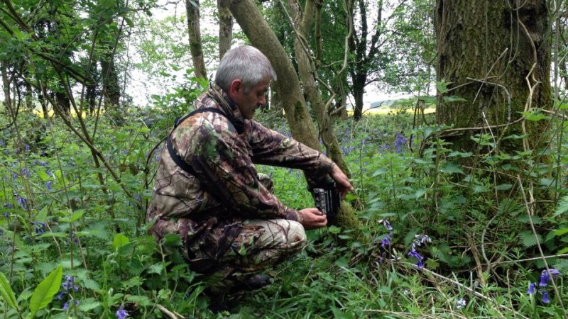 Positioning Trail Cam