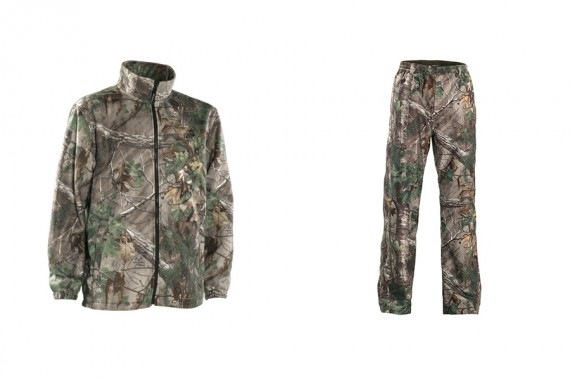Deerhunter Avanti Fleece & Trousers - Realtree Xtra Green.