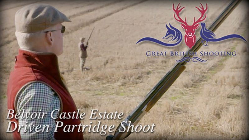 Belvoir Castle - Driven Partridge shoot