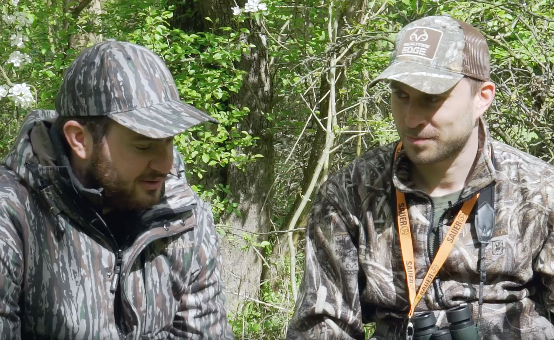 Frederic and Frank in Realtree camo