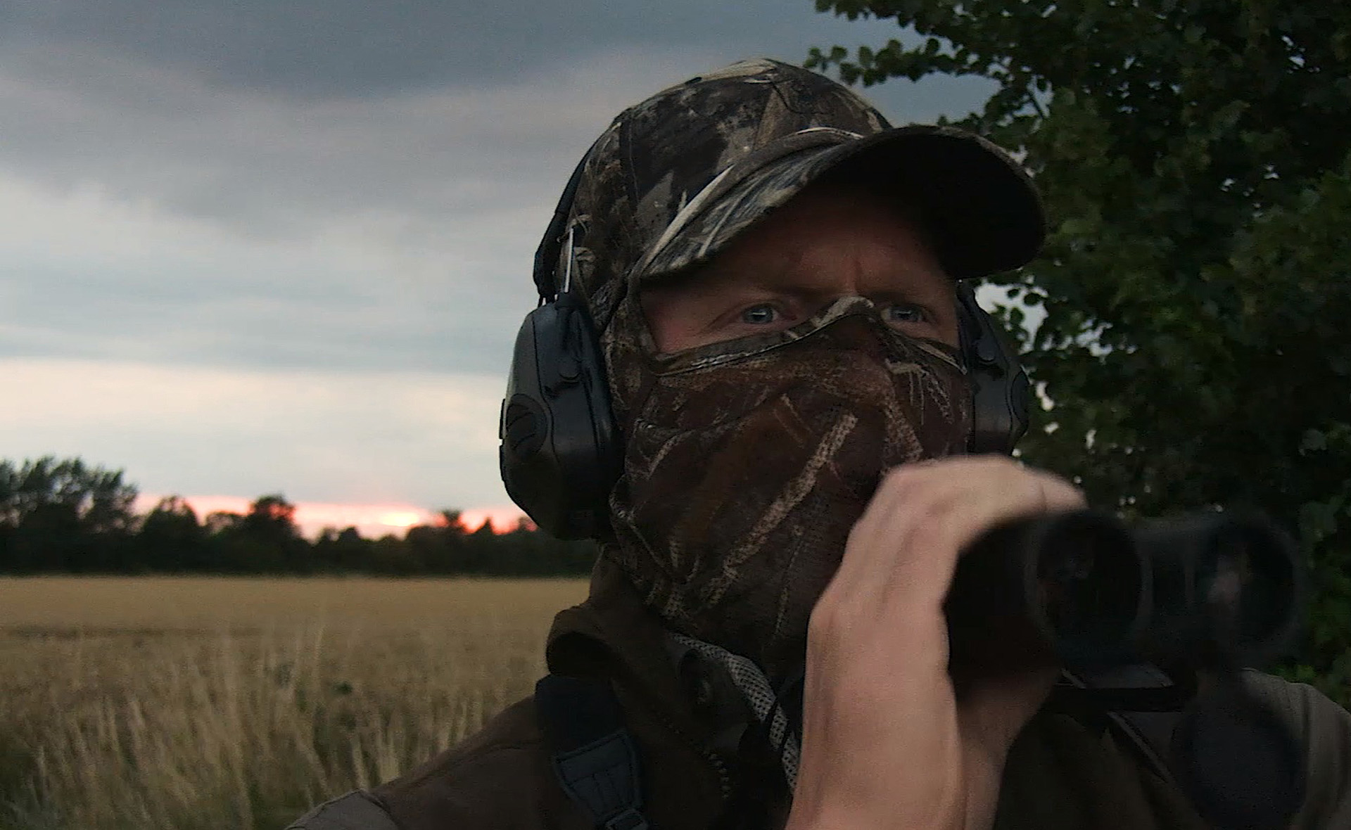 Ian Harford with Hawke Optics