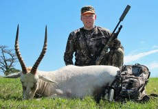 Hunting White Blesbuck at Nduna Hunting Safaris