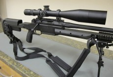 Gear for my Billy Goat hunt – the awesome Haenel RS8 Sniper Rifle