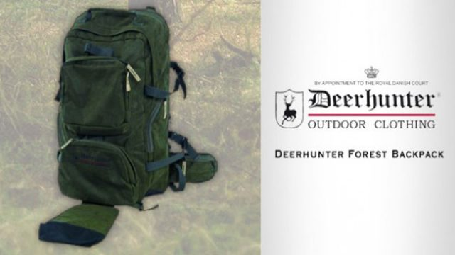 Deerhunter Forest Back Pack  – Featuring 45cm Foldable Chair