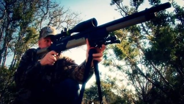 EXTREME Airgun Hunting: Axis Deer with the Benjamin Rogue .357