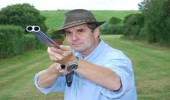 Mike Yardley Shooting Pigeons In Africa