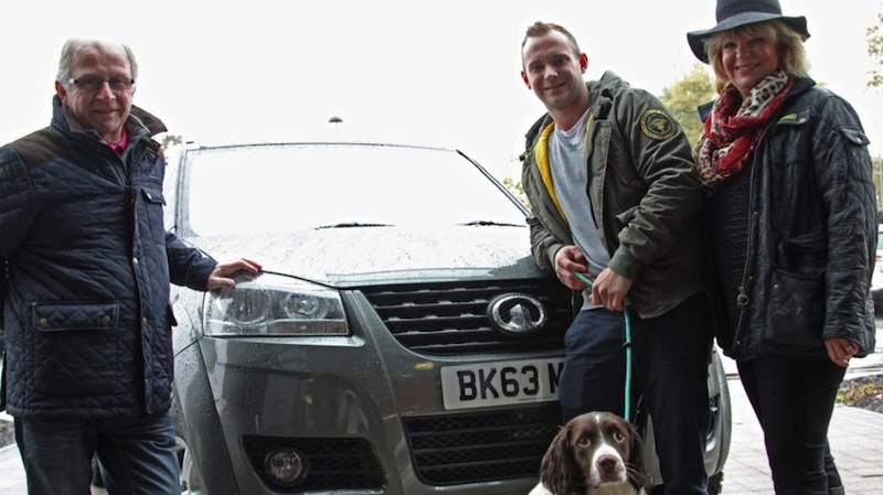 Great Wall Motor Present Steed to Gundog Champion