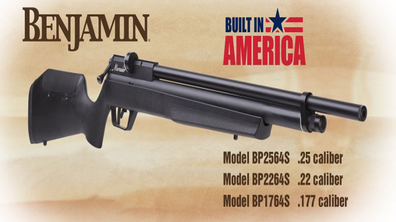 Crosman's New Benjamin Marauder Now Available
