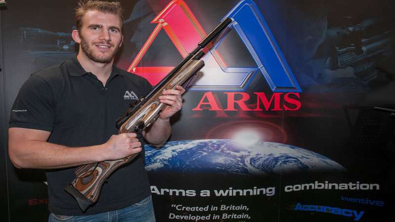 Tom Croft Joins Air Arms Team