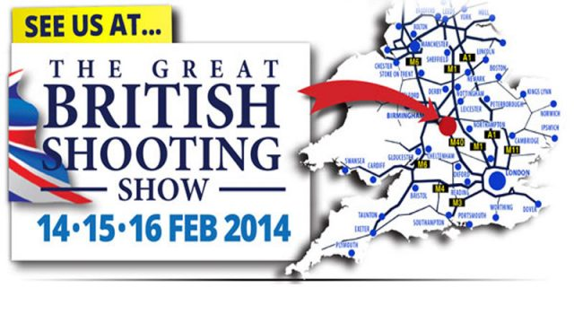 Team Wild Are Heading To The British Shooting Show.