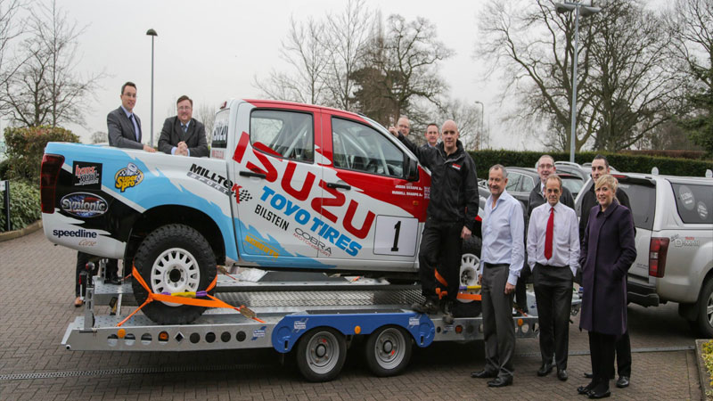 Ultimate Lamping Truck? – The Isuzu D-Max BCCC Vehicle Arrives At Isuzu UK