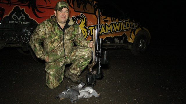 Airgun Hunting At Night – Rats and Feral Pigeons.
