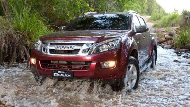 Off Road Driving Masterclass with the Isuzu D-Max