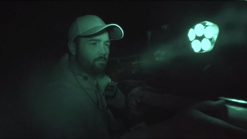 Night Vision Hunting With The NiteSite Eagle