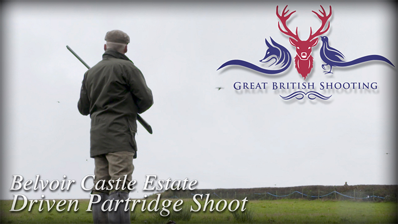 Belvoir Castle Estate Driven Partridge Shoot