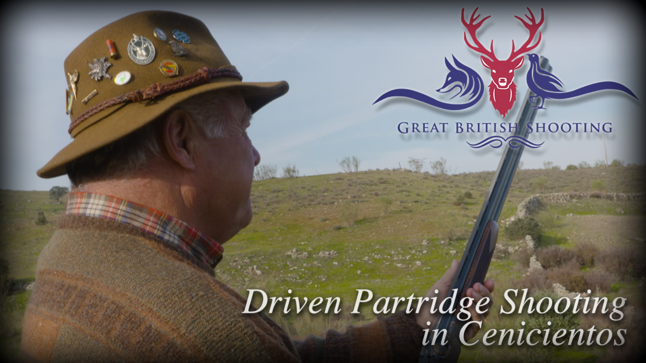 Driven Partridge Shooting in Cenicientos with Robert Allan