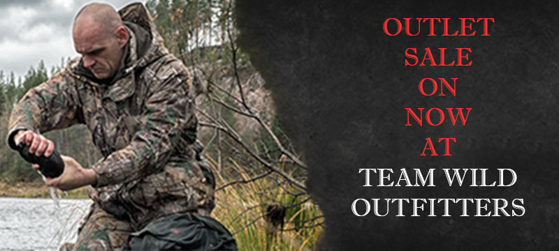 Team Wild Outfitters Sale on Now!