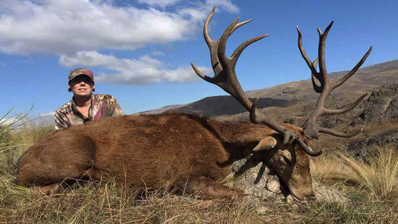 Clare Harford's Red Stag Hunting Adventure in Argentina