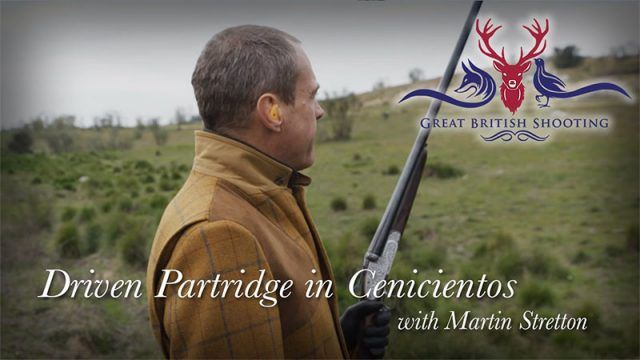Driven Partridge Shooting in Spain with Martin Stretton