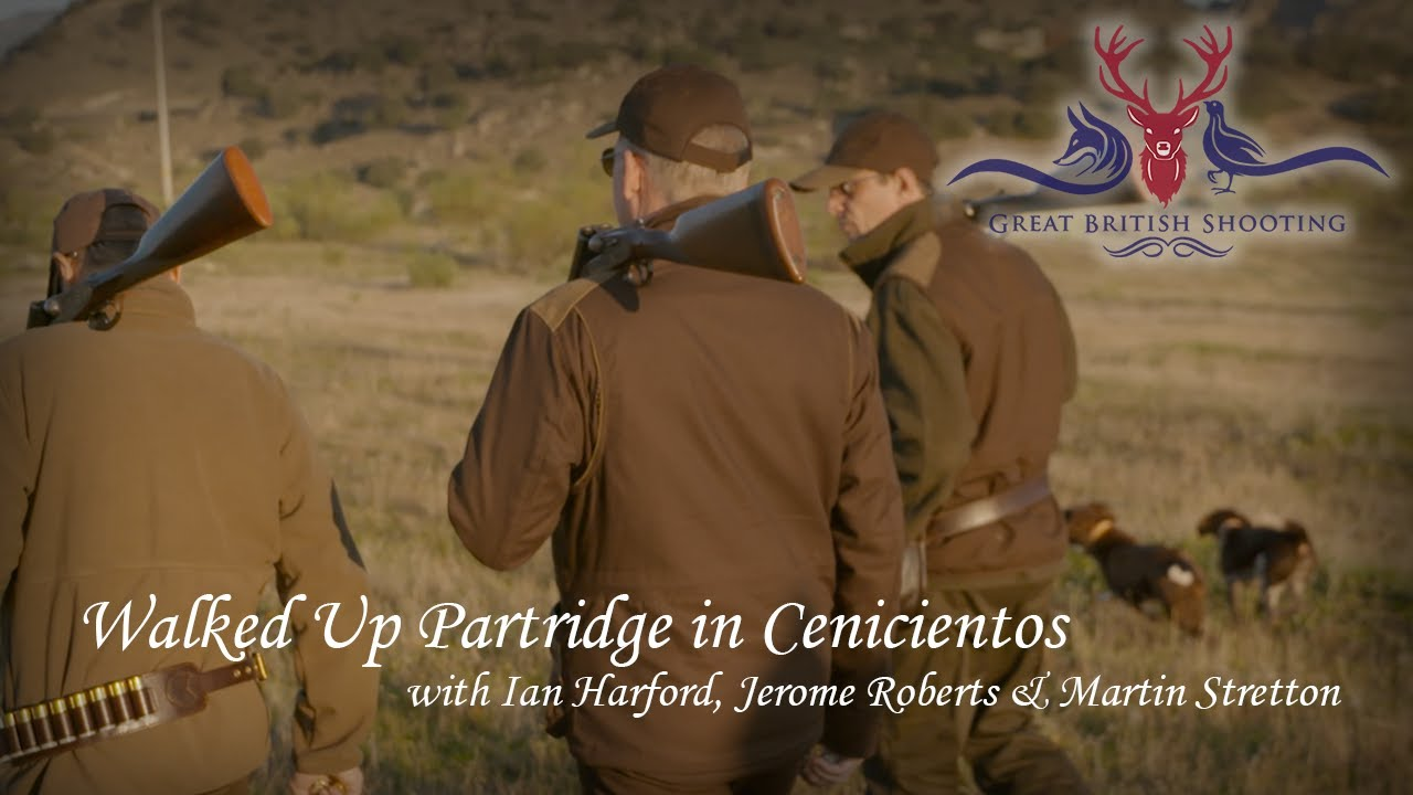 Walked Up Partridge Shooting in Spain with Ian Harford, Jerome Roberts & Martin Stretton
