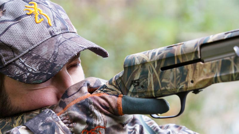 Limited Edition Browning A5 Shotgun in Realtree MAX-5