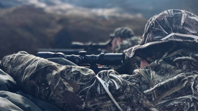 Hunting Grizzly Bear and Barren Ground Caribou in Alaska.