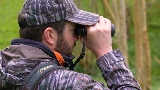 Stalking Muntjac in Northamptonshire with Ian Harford and Frederic Hanner