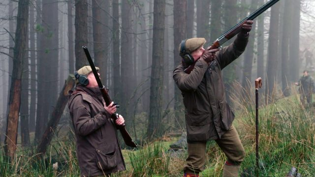 Pheasant Shooting at Upperwood Estate with Ian Harford